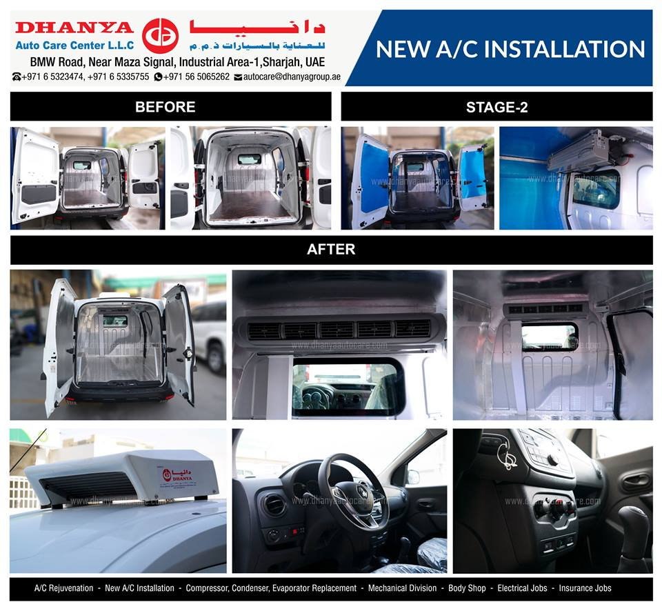 Dhanya Auto Care Center INDUSTRIAL AREA 1 - WorkShops ae