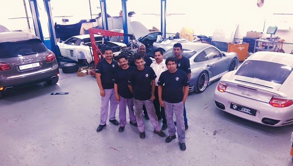 House of Cars Garage Al Quoz Industrial First - WorkShops.ae